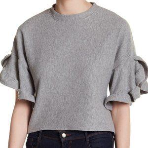 Cotton Emporium Ruffle Sleeve Fleece